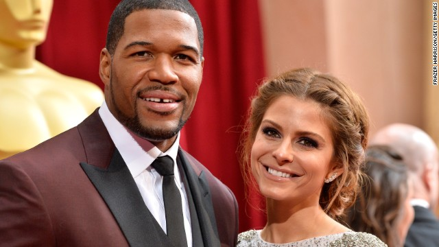 Michael Strahan and Maria Menounos