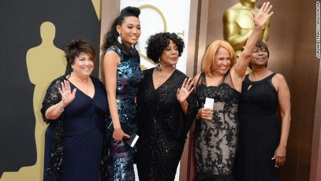 From left, Tata Vega, Judith Hill, Merry Clayton, Darlene Love and Claudia Lennear