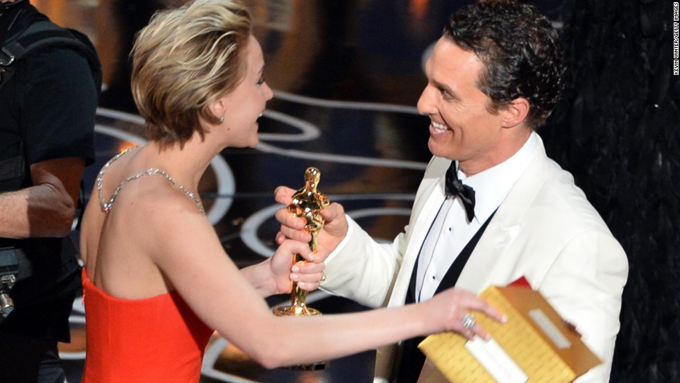 """Matthew McConaughey accepts the best actor Oscar on Sunday, March 2, for his role in the film """"Dallas Buyers Club."""" Find out which legends took home Oscars before McConaughey -- from German actor Emil Jannings in 1929 to three-time winner Daniel Day-Lewis in 2013:"""