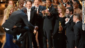 '12 Years a Slave' named best picture