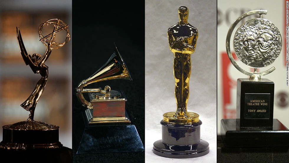 "It's a very exclusive club. Only 12 people in history have won the four major entertainment awards -- the Emmy, Grammy, Oscar and Tony -- in competition. Three others have all four thanks to honorary awards. On Sunday, ""Let It Go"" songwriter Robert Lopez became the latest to pull off the feat when he won an Oscar for best song."