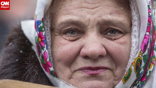 """""""People in Ukraine are very concerned, scared -- war has not been a part of reality of the lives of our generation,"""" <a href='http://ireport.cnn.com/docs/DOC-1098963'>Mikhaluk </a>said."""