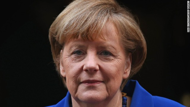 "German Chancellor Angela Merkel: Merkel's office said Putin had accepted a proposal to start a political dialogue and establish a ""fact-finding mission"" to Ukraine, possibly under the leadership of the Organization for Security and Co-operation in Europe."