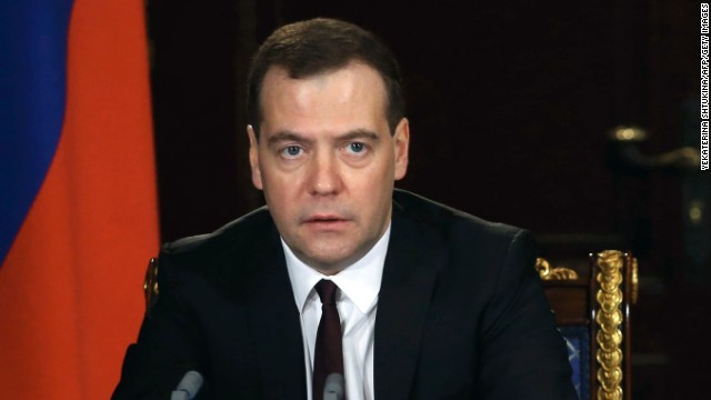 "Russian Prime Minister Dmitry Medvedev: In a post on his official Facebook page, Medvedev called Yanukovych's ouster a ""seizure of power."" ""Such a state of order will be extremely unstable,"" Medvedev said. ""It will end with the new revolution. With new blood."""