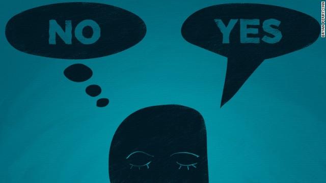 Decir 'no' es mucho más difícil de lo que debería ser