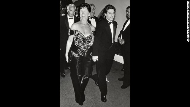 Tom Cruise and his mother, Mary Lee Pfeiffer, attend an event together.