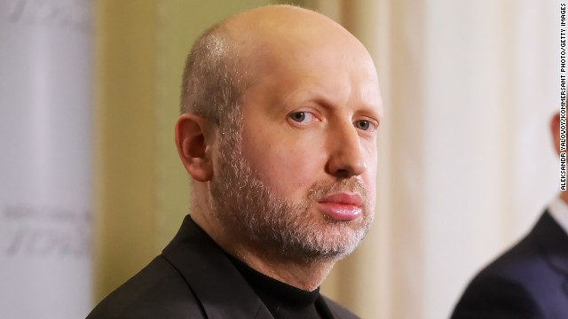 Ukrainian President Olexander Turchynov: Turchynov became acting president of Ukraine after Yanukovych's ouster. Like Prime Minister Arseniy Yatsenyuk, he has warned that any Russian military intervention would lead to war.