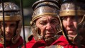 Actors dressed as ancient Roman soldiers march in a commemorative parade during festivities marking the 2,766th anniversary of the founding of Rome on April 21, 2013 in Rome, Italy. The capital celebrates its founding annually based on the legendary foundation of the Birth of Rome. Actors dressed as the denizens of ancient Rome participate in parades and re-enactments of the ancient Roman Empire. According to legend, Rome had been founded by Romulus in 753 BC in an area surrounded by seven hills. (Photo by Giorgio Cosulich/Getty Images)