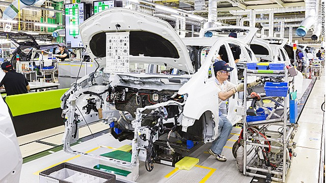 """Toyota became a corporate icon because it achieved and sustained record-setting operational performance measured in terms of productivity, product reliability, and time to market in an incredibly competitive industry,"" MIT professor Steven Spear tells CNN."