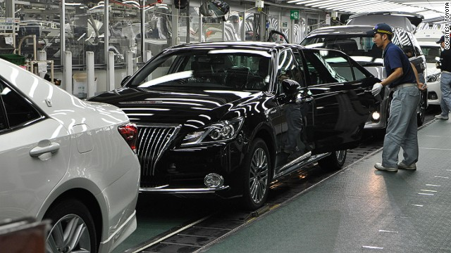 You'd think one of the world's most efficient systems would have production lines dedicated to single models, but Toyota says it isn't so. The company mixes models on the line to keep workers engaged and alert.