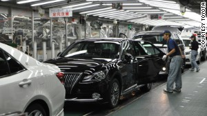 To keep workers engaged and alert, Toyota production lines aren\'t dedicated to a single model.
