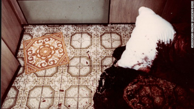 Ed and Grace Davies had been tied up on their kitchen floor with pillows put over their heads before they were shot.