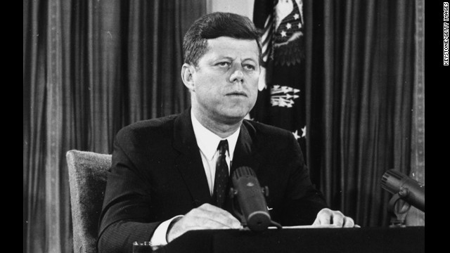 John F. Kennedy International Airport, located in the Queens borough of New York City, bears the name of the 35th president, who was assassinated on November 22, 1963. It was formerly New York International Airport, but was commonly known as Idlewild Airport.