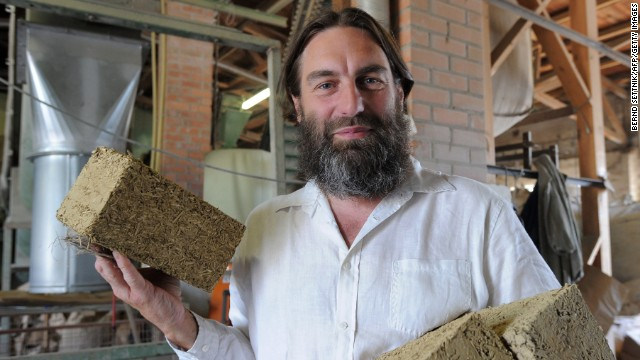 Natural Building Materials : Would you live in a house made of sand and bacteria cnn