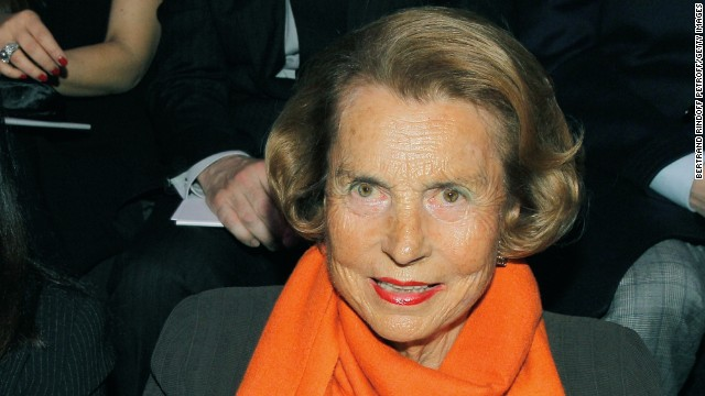 Although Liliane Bettencourt is no longer running L'Oreal, the company started by her father, the 91-year-old widow is still worth a net of $34.5 billion. In 2012, Bettancourt was replaced by her grandson, Jean-Victor Meyers, as board member of L'Oreal after being proven unfit to manage her affairs due to dementia.