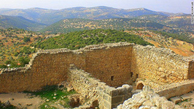 The Ajloun region has a five-day hiking trail that's part of the multi-country Abraham Path.