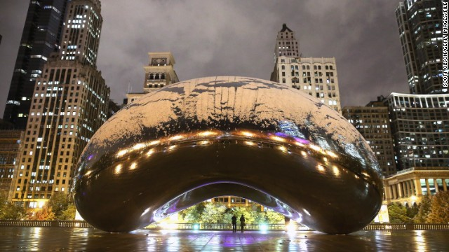 Cloud Gate (also known as