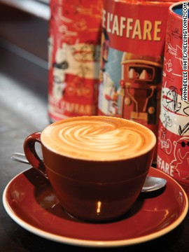 According to Wellington-ites, the ubiquitous flat white was perfected in New Zealand's capital. The drink has since become the Kiwi's unofficial national beverage.
