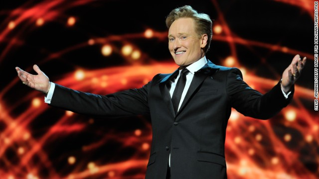 Conan O'Brien will host the MTV Movie Awards