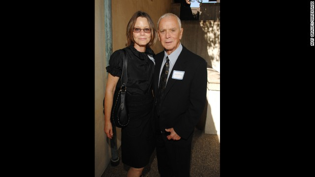 "Dey, now 61, left ""L.A. Law"" in 1992 and went on to guest on several TV series, most recently on a 2004 episode of ""Third Watch."" She's seen here with her husband, producer Bernard Sofronski."