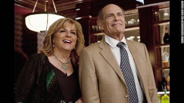 "After ""L.A. Law,"" Rachins did a 180 from the buttoned-down Brackman, starring as Dharma's hippie dad Larry on ""Dharma and Greg."" Now 71, he's appeared in several TV movies and series, including recent spots on ""Happy Endings"" (seen here, with Caroline Aaron), ""Rizzoli & Isles"" and ""The Crazy Ones."""