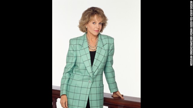 "Tucker's wife, Jill Eikenberry, played Ann Kelsey on ""L.A. Law."" (Colleague Alan Rachins calls the pair the ""TuckerBerrys."") The two were involved in a famous ""Law"" storyline involving the ""Venus Buttterfly,"" a sexual technique that helped Markowitz win Kelsey's heart."