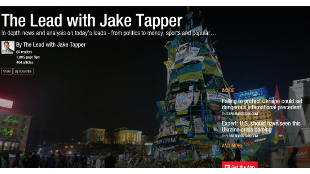 CNN's 'The Lead with Jake Tapper' is on FlipBoard