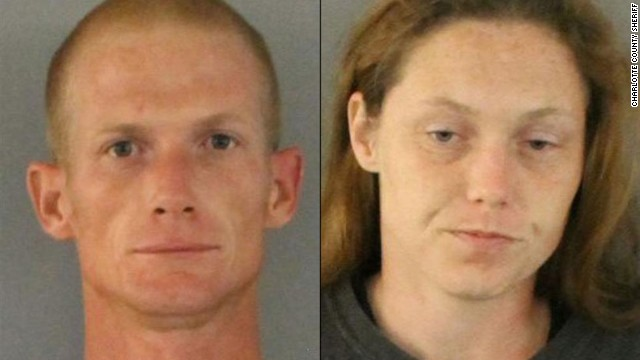 Michael and Sarah Butcher, both 30, were charged with child neglect after their children allegedly were abandoned.
