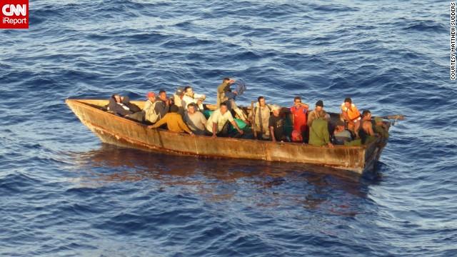 Cruise Ship Rescues 24 Stranded Cubans Cnn Com