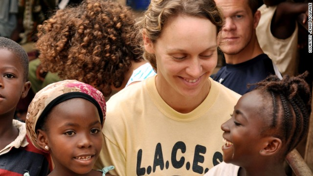 American Seren Fryatt founded the organization in 2007, having previously worked in Liberia for six months aboard a floating hospital ship.