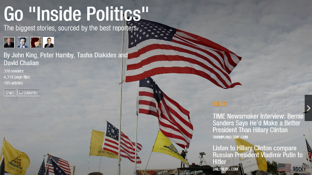 CNN's 'Inside Politics' is on Flipboard
