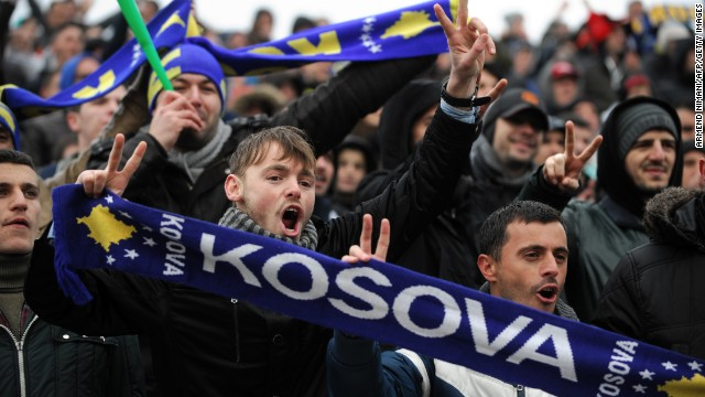 Around 17,000 fans packed into the stadium in Mitrovica to watch Kosovo's first FIFA sanctioned friendly match against Haiti. The game finished goalless but it did not disappoint those who had waited six years for this day.