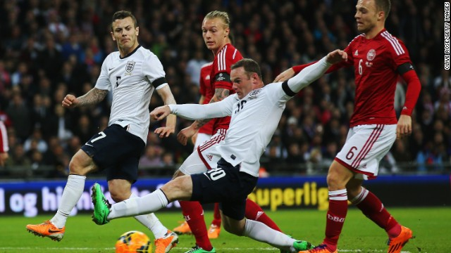 Wayne Rooney failed to impress as England put in a disappointing performance during its 1-0 win over Denmark. Daniel Sturridge's late strike spared the home side's blushes.
