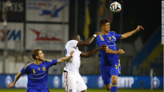 Ukraine edged out the USA 2-0 thanks to goals from Andriy Yarmolenko and Marko Devic.