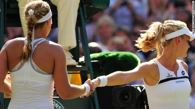 The Handshake in Tennis