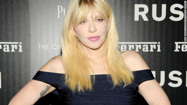 Courtney Love tweeted what she thought might be a clue to the disappearance of Malaysian flight 370.