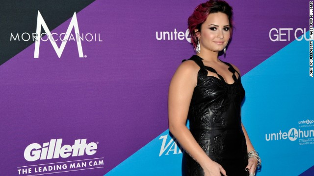 """X Factor"" judge Demi Lovato went public with her story of <a href='http://www.cnn.com/video/?/video/showbiz/2013/12/12/jvm-demi-lovato-drug-abuse.hln&iref=allsearch&video_referrer=http%3A%2F%2Fwww.cnn.com%2Fsearch%2F%3Fquery%3D%2B%2BDemi%2BLovato%2B%26primaryType%3Dmixed%26sortBy%3Drelevance%26intl%3Dfalse%26x%3D18%26y%3D7#/video/showbiz/2013/12/12/jvm-demi-lovato-drug-abuse.hln'>cocaine abuse in 2013.</a> She has been outspoken about her <a href='http://marquee.blogs.cnn.com/2013/07/02/demi-lovato-i-was-suicidal-at-seven/'>""emotional and physical issues""</a> from which she has since recovered."