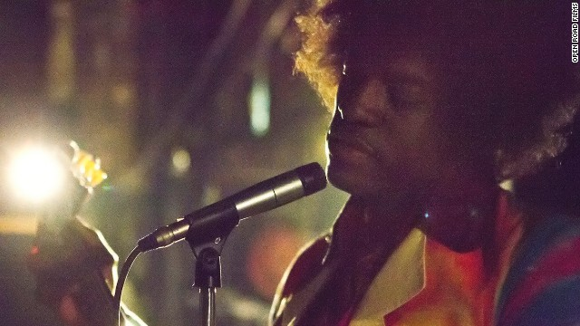 First Look At Andre 3000 As Jimi Hendrix The Marquee
