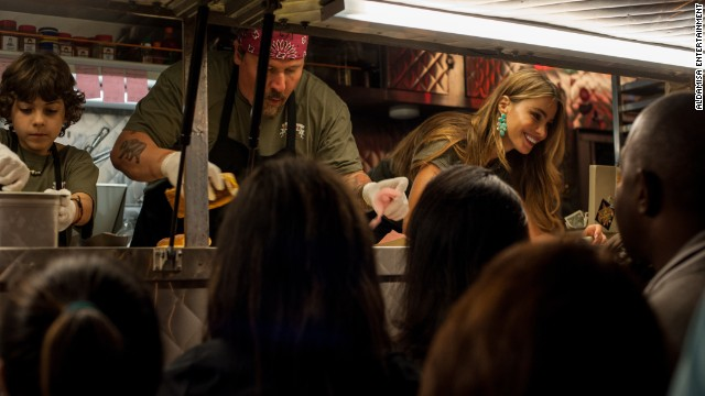 "The Jon Favreau indie film <strong>""Chef""</strong> about a chef who returns to his native Miami to open a food truck after he fails in Los Angeles, co-stars some great food."