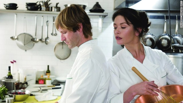 "<strong>""No Reservations"" (2007):</strong> The lives of Aaron Eckhart and Catherine Zeta-Jones take a turn after she becomes guardian of a young relative. The film is a remake of the German film ""Mostly Martha."""