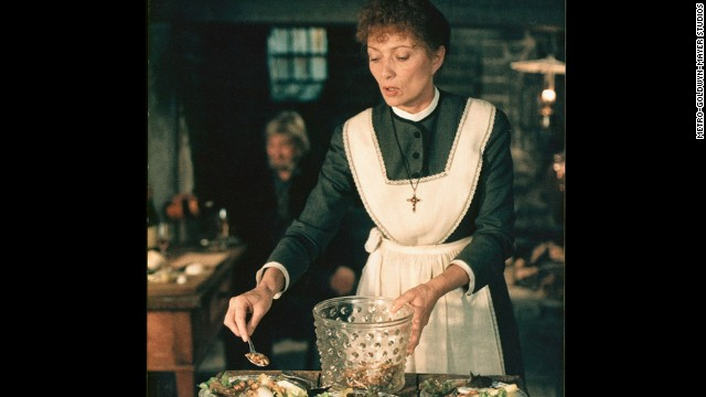 "<strong>""Babette's Feast"" (1987):</strong> Stéphane Audran stars as Babette Hersant in this sinfully decadent film about a French woman who uses an unexpected windfall to host an amazing dinner."