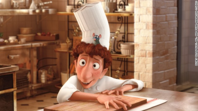 "<strong>""Ratatouille"" (2007</strong><strong>):</strong> The animated film about a rat who can cook boasts an all-star cast including Patton Oswalt and Peter O'Toole."