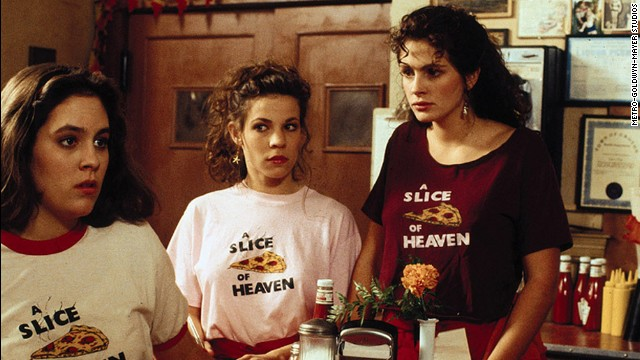 "<strong>""Mystic Pizza"" (1988</strong><strong>):</strong> A young Annabeth Gish, Lili Taylor and Julia Roberts star in this coming of age drama about a group of girls working at a pizza parlor."