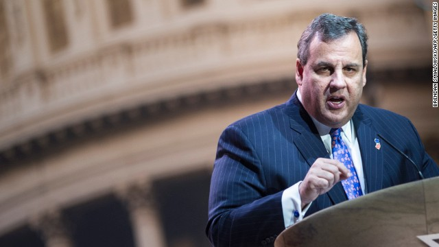 Christie says he misspoke when using the term 'occupied territories'