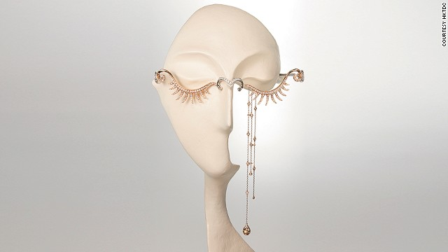 "Luk Fook Holdings Company's unusual entry, ""Joyful Tear,"" by Tse Ka Wing, won the Best of Show Award at this year's Hong Kong Jewellery Design Competition. Winners were announced this week."