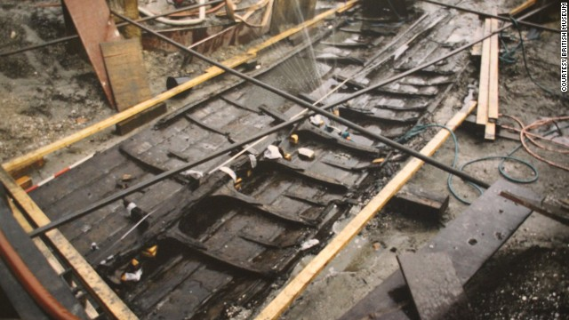 Dating back to 1025, the historic vessel was found in Denmark's Roskilde Fjord during excavation around the city's Viking Museum.