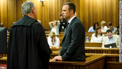 Pistorius trial: Ex-girlfriend testifies