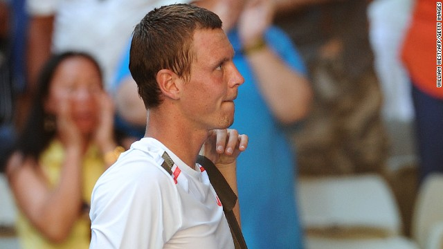 Tomas Berdych, Stepanek's fellow Czech, was loudly booed in Melbourne in 2012. He refused to shake hands with Nicolas Almagro after he thought the Spaniard hit a ball str