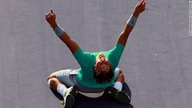 Rafael Nadal is excited to be back at the BNP Paribas Open, a tournament he has won three times.