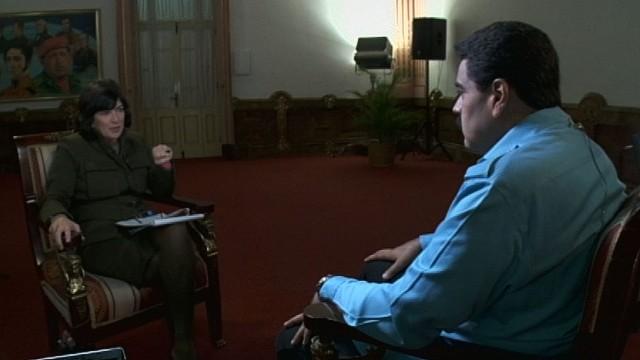 Transcripción de la entrevista a Nicolás Maduro por Christiane Amanpour